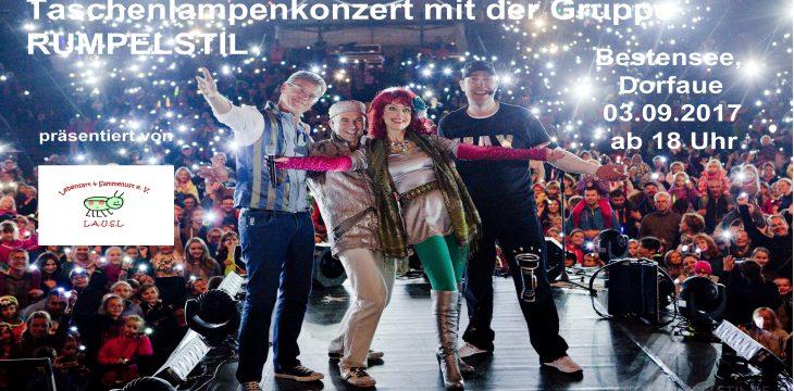 NEWS !!! Taschenlampenkonzert in Bestensee – Karten schon für fast 1.000 Teilnehmer verkauft !!!!