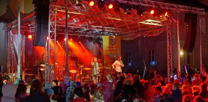 Das Bestenseer Taschenlampenkonzert war ein Riesenerfolg !!!!