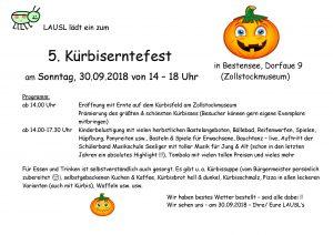 Flyer Kürbisfest